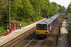 7th May 2016:  Running through Woodlesford is 144020 with 1L86 the 13.52 Sheffield to Leeds via Wakefield.