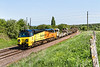 15th May 2016:  Colas Railfreight 70807 hauling 6C97 from Cowley Bridge to Westbury at Hawkeridge Junction.  With the line to Fairwood closed for track relaying tis train has been forced to travel vis Bristol and Bath