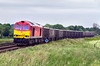 31st May 2016:  60100 is captured at Bapton while working 7V16 from Fareham to Whaqtley