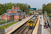 7th May 2016:  Making it's stop at Moorthorpe is Nerthern Trains 158792 forming2N23 the 11.48 Leeds to Sheffield