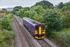 27th Sep 2016:  A class 150 is not something that you see every day on the Westbury 'New Line' AKA 'Avoider'.  5Z75 is an intermittant working for route learning/refresher purposes.  Starting and ending in Westbury DMU Sidings 153318 is covering all the routes that can join Bradford Junction to Heywood Junction and East Somerset Junction together but are not used for regualar services.   It can use any 150/153/158 that happens to be available though this is the first time I have seen a 153 doing it