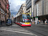 5th Sep 2016:  One of the latest Skoda 3 car trams  9365 passing Debbenhams !