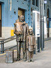 7th Sep 2016:  The famous statue errected by the Czech government to Sir Nicholas Winton on platform  1 in Prague Station.  This is in reccognition of the fact that he organised the transport of 669 mainly Jewish children to Britain from the republic just before WW2.  Another train load was planned but war was declared before it could happen.  It was not until the 1980s when his wife found the paper work  that his effort became widely known  He died on 1st July 2015 aged 106.  There is a statue to him on Maidenhead Station