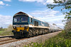 10th Apr 2017:  The next to pass at Masters Xing is 59101travelling as 6C31 from Theale to  Whatley