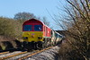 13th Jan  2017:  59203 is in charge of 7C31 empties from Theale to Merehead at the Fairwood foot crossing