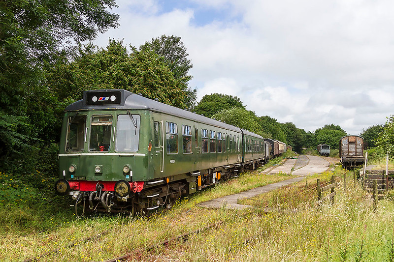 24th Jun 2017:  Built between 1958 and 1960 were the Class 108 DMUs.  The 4 letter head code box indicates that DMBS 51909 and it's partner DTC 56271 were built in the later stages.  The set can be used in traffic if and when required