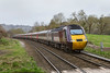 19th Mar 2019:  Cross Country HSTs are not seen ijn the Avon Valley unless diverted by engineering works which was the case today.  43378 leads on 1V50 the 09.00 from Leeds to Plymouth captured as it passes through Freshford.  43337 was on the other end.
