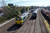 25th Mar 2017:  Todays 'Air Express' with 66517 on the point was 4M55 from Southampton to Daventry.  The location is Hinksey Yard