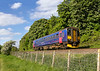 9th May 2017:  153373 is this afternoon forming 2M14 the 16.21 from Westbury to Swindon on the single line between Bradford Junction and Thingley Junction