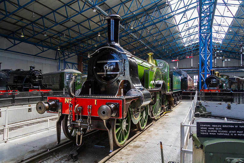 20th Apr 2018:  Victorian beauty at it's best.  Patrick Stirling designed 4-2-2 for the Great Northern Railway was introduced in 1870 and 85 were built.