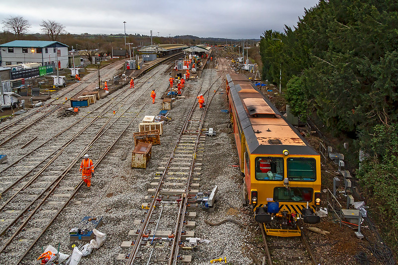 30th Dec 2018:  Most of the work seems now to be on Platform 1/2