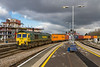 26th Jan  2018:  Under a very threatening sky at Bristol Temple Meads 66514 is on the Down Through as it works 4V31 that is the 07.53 from London Gateway to Bristol Freightliner Terminal.  It did not rain but the light got worse.