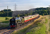24th Jun 2018:  After a pathing stop at Frome 34052 'Lord Dowding' accelerates away from Clink Road Junction on the return 'English Riviera Express'  to Bristol Temple Meads from Kingswear.