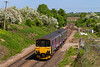 17th May 2108:  Flat Face 150126 at the July 1942 opened Hawkeridge Junction while it works 2F97 the  08.50  from Great Malvern to Westbury