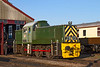17th Nov 2018: BR Class 14  Paxman Diesel Hydraulic o-6-0 D9516 is one ot 24 built between 1964 and 1965