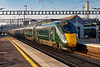 17th Nov 2018:  The 2nd IET set to call at Didcot Parkway in 10 minutes sees 800028 leading on 1A19 the 13.00 Bristol Temple Meads to Paddington.  'Paddington Bear' 800010 is the 2nd set