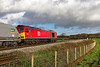 30th Nov 2018:  Having gone to Bunns Lane for the RHTT I leaned that Tug 60062 had been rostered for 7B12 the Merehead to Wootton Bassett.  Unfotunately unless you have a long lens at hand there is no shot looking west at this spot  so this is the best that I could manage