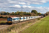 27th Oct 2018:  The 2nd 591 in 10 minutes through Fairwood sees 59102 running  with the Saturday Only 7C31 the 10.26 from Theale A RC to Whatley Quarry.