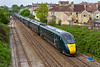 23rd Apr 2109:  802113 is passing through Oldfield Road Station in Bath as it works 1A16 the 12.00 Bristol Temple Meads to Paddington