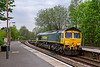 23rd Apr 2019:  The 4.30pm from Wentloog to Southamptom Maritime is at Warminster.  Although it looks to be a glider fuel express there was actually a single unbranded container at the very end of the last waggon.  I have no idea what the working code is.