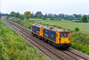 24th Jun 2019:  Having spent the weekend on the.  West Somerset Rrailway for their Gala. 0Z73 is taking them back to their home at Tonbridge West Yard GBRf and is pictured from the bridge on Cowleaze Lane in Edington on the Berks & Hants line.