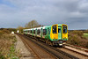 24th Mar 2019:  Nearing Ford is 313220 as it works 2P17 the 09.00 from Bognar Regis to Littlehampton. At Littlehampton it will reverse ansd go back to Bognor Regis