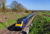 25th Mar 2019:  On the front of 1C82 the 13.03 from Paddington to Plymouth is 43079, captured as it runs through Great Cheverell on a beautiful afternoon. 43078 is on the other end.