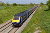15th May 2019:  Probably my last picture of an HST on the Berks & Hants is of 43171 that is leading on 1C84 the 14.03 From Paddington to Penzance passing through Edington