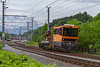 27th May 2019:  A mobile crane is arriving at Oberndorf station near Kitzbuhel