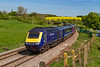 13th May 2019:  With a wave from the driver 43071 rounds the curve though `Crofton as it works 1C84 to Penzance that had started from Paddington at 14.03  Probably the last picture that I shall  ever take of an HST at this particular spot.