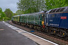 8th May 2019:  The two DMU coaches being sent to Eastleigh on 5Q86 from Long Marston