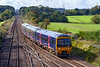 15th Oct 2019: 166207 takes the Westbury staion line at  Fairwood Junction as it works 2E24 the 13.10 to Gloucester from Weymouth .