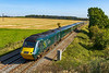 14th Sep 2019:  The GWR promoted tour from Okehampton to Weymouth using a five carr Castle set has revered at Westbury and is now heading to Castle Cary where it will turn off onto the Weymouth line,  The location is Berkley Marsh near Frome.