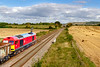 5th Sep 2019:  60044 gets under way at Fairwood after a signal check  as it powers 7C28 from Exeter Riverside to Whatley Quarry