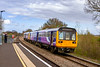 6th April 2020: Walking is not my strong point but today the chance of picturing a pair of Northern 142s going for storage was too much to miss.   So grab my stick and set forth to Dilton Marsh Halt for my weekly exercise trek.   After travelling 228 miles from Gascoigne Wood  Sidings 142056 & 142007 are running 12 minutes early as they make the climb between Westbury and Upton Scudamore..  There are another 50 miles to go before they get to their destination at Eastleigh. Then I had another 45 minutes walk to get home.!