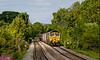 4th Aug 2020:This shot of 66558 working 4O57 to Southampton Maritime from Wentloog is a monster crop from the original frame.   When the train came into view the hole  of the track down the hill from Dilton Marsh was bathed in sun light. With only the 50 mm f1.4 available this was te  best I could  manage as the cloud encroached.