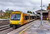9th Apr 2021:  A livery totally new to me is that of the 'West Midlands Railway'.  At Hereford 170533 & 170501 are waiting in Platforn 3 with 1M63 the 11.39 to Birmingham New Street