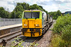 6th Jul 2021:  Arriving at Warminster is MPV DR98913 that I believe is a weed killer sprayer set. It started from Totton Yard and came via Eastleigh but will return to Totton Yard using the direct line between Rmsey and Redbridge.