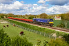 5th May 2021:    My first shot of GBRf 66791 is at Little Langford in the Wylye valley as it works 6O41 from Westbury to Eastleigh.  It was my lucky day as if it had beem 15 seconds earlier the loco would have been in shaddow.