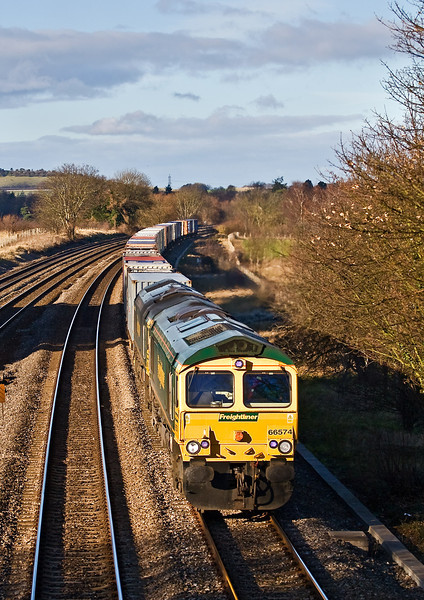 3rd Dec:  66574 with 66572 DIT on the Wentloog