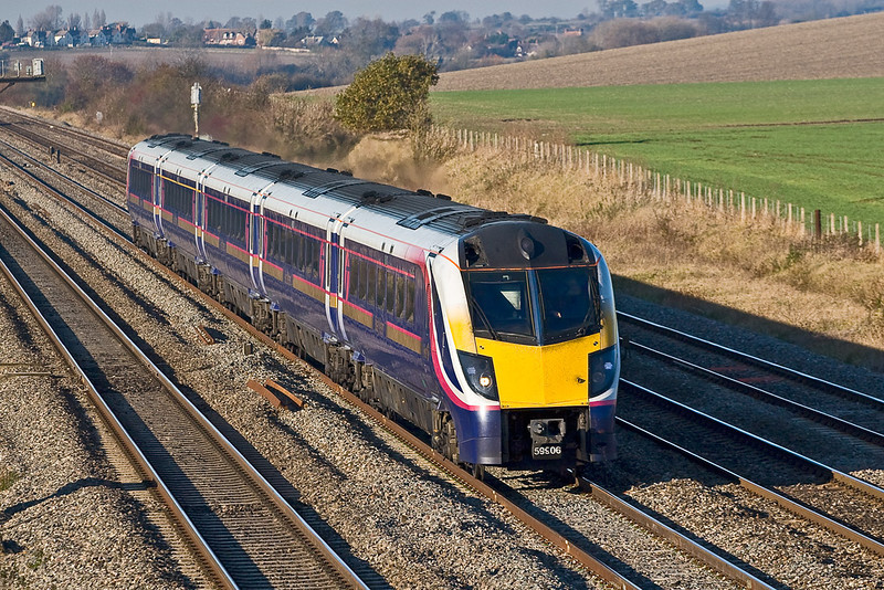 15th Nov 07:  Soon to be retired from First Great Western service is 180106