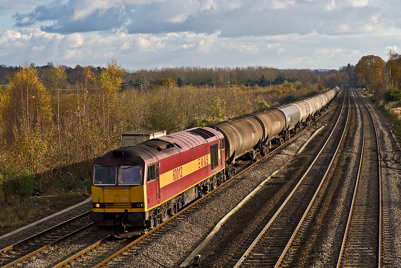 14th Nov 07:  Tug 12 on the Theale to Lindsey empty oil tanks