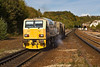 18th Oct 07:  RHTT unit tailed by DR 98981 heads for the tunnel