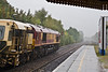 9th Oct 07:  Not paying attention I almost missed the late running Hinksey to Eastleigh Departmental and 66047.