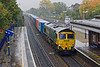 9th Oct 07: Heading for Leeds is 66542 on the 09.29 from Southampton Millbrook