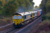 30th Oct 07:  66538 with 66539 DIT form 4M61 to Trafford Park