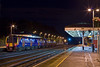 28th Oct 07: At nearly 8.30 pm the station is deserted