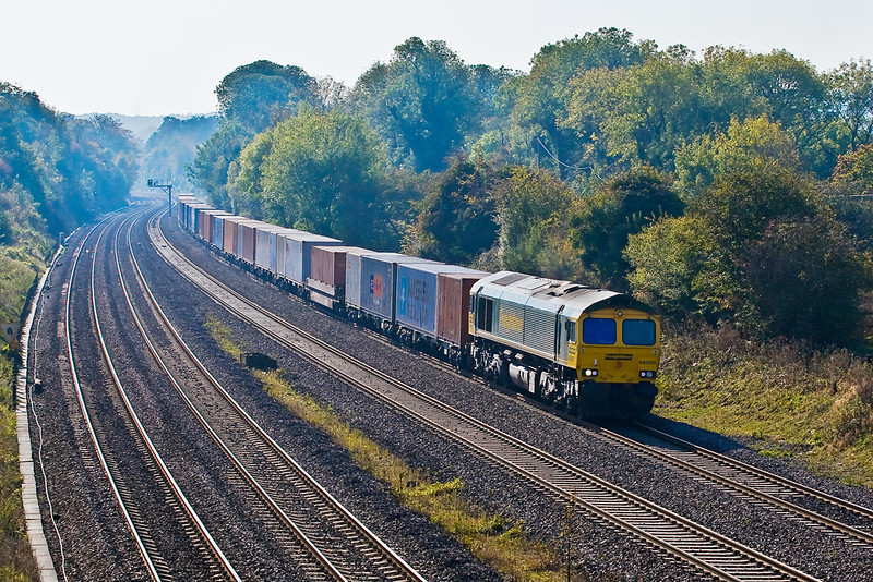 23rd Oct 07:  Climbing away from Goring and passed Spring Farm is 66590, 4M55, 08.58 Southampton to Lawley Street