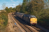 29th Oct 07:  37605 with two 'Translator' vans, running as 5Z01. from Derby to Eastleigh coasts through Silchester