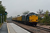 9th Oct 07:  37607 with 37059 on the rear brings todays 1Q14 Serco through Mortimer towards Reading